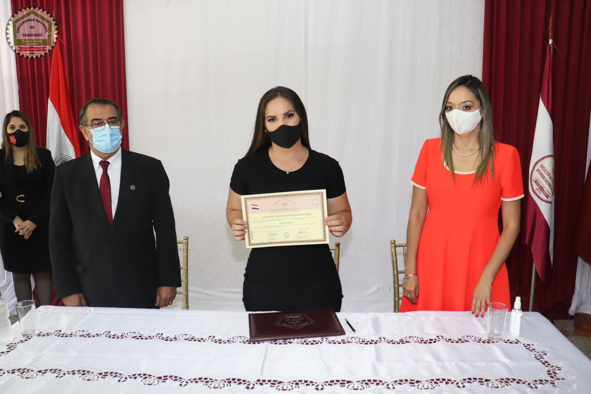📌Firma de Títulos de Grado de los egresados de la Facultad de Odontología