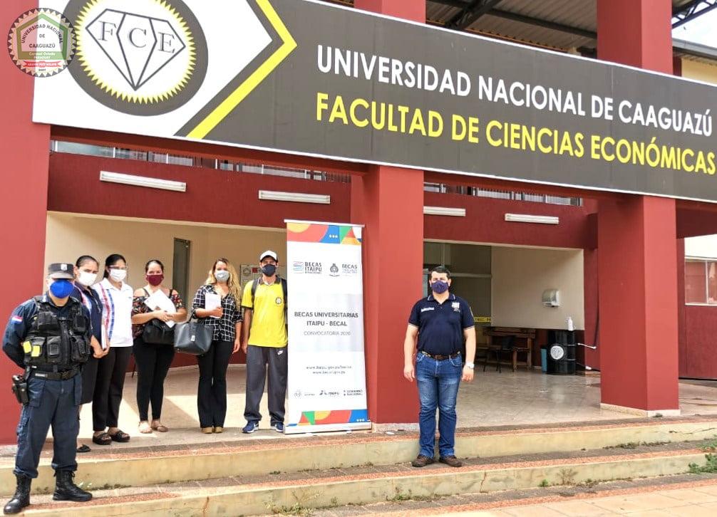 📌La UNCA será sede de los exámenes de la Itaipú-BECAL
