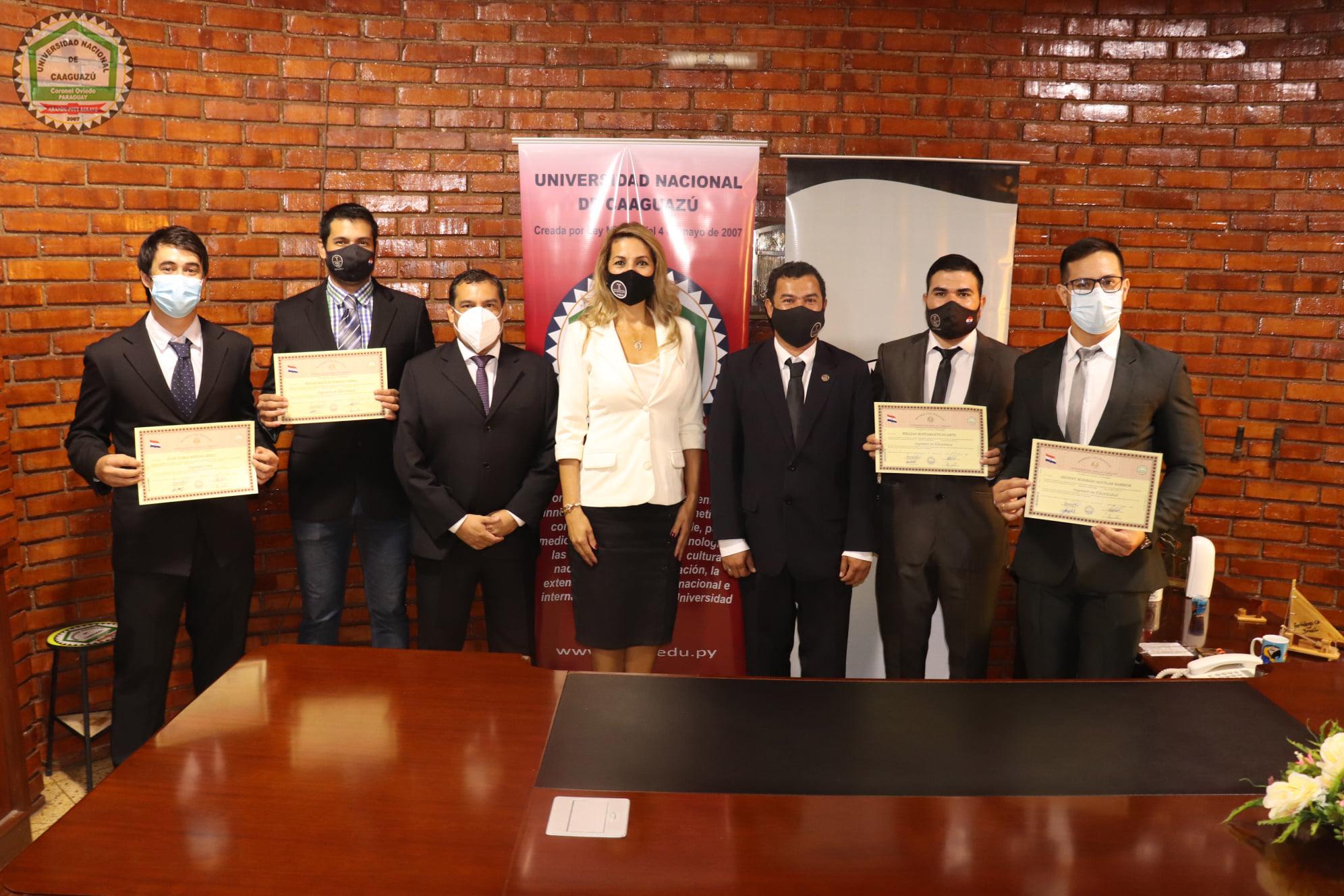 📌Firma de Títulos de Grado de los egresados de la Facultad de Ciencias y Tecnologías