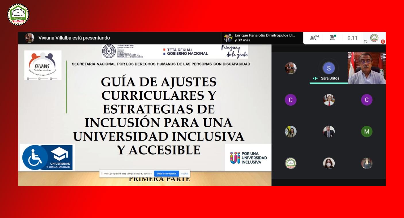 """📌Seminario Virtual: """"Guía de ajustes curriculares y estrategias de Inclusión para una Universidad Inclusiva y Accesible"""""""