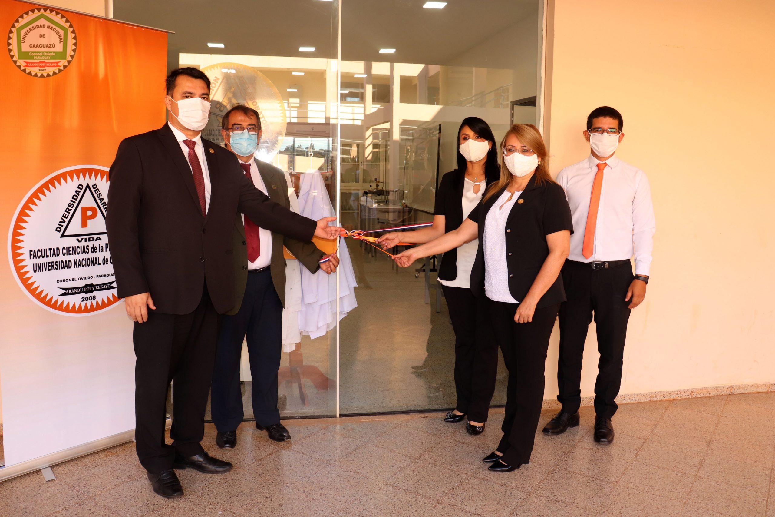 📌Inauguración del Laboratorio de Química Ambiental de la Facultad Ciencias de la Producción